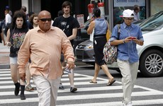 Should people be fined for texting while walking?
