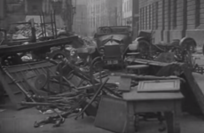 Watch: What Dublin looked like after the Easter Rising
