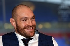 Antrim were supported by Tyson Fury today as they secured promotion