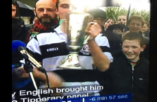 Kilkenny Allstar's brilliant photobomb as an 11 year-old during Eoin Kelly's Laochra Gael