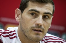 Iker Casillas became the joint most capped European player of all time last night