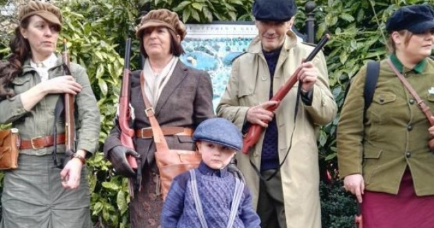 In pictures: the Easter Monday celebration of the 1916 centenary