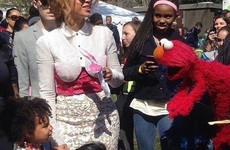 Beyoncé and Blue Ivy went to an Easter egg hunt at the White House and it was adorable