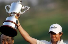 In the swing: Rory's not the new kid on the block anymore