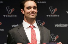 The Texans handed Brock Osweiler $37 million after meeting with him for just 10 seconds