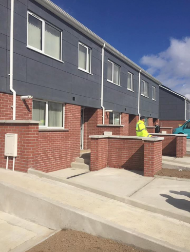 Next month, some people will move into these temporary modular houses in Dublin