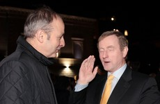 Enda and Micheál finally speak on the phone - but there's confusion over who said what