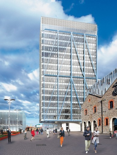 Planning approval given for Dublin's tallest office building