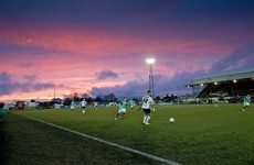 Red sky, red cards and a litany of bookings as early pace-setters share the spoils in Dundalk