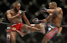 The Cormier-Jones light-heavyweight title rematch at UFC 197 is off