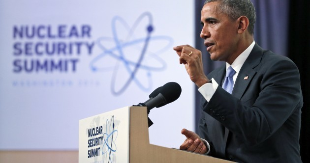 "Obama calls for more to be done to prevent nuclear attack by Islamic State ""madmen"""