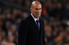 Zizou 'happy with everything' after victory over Barca