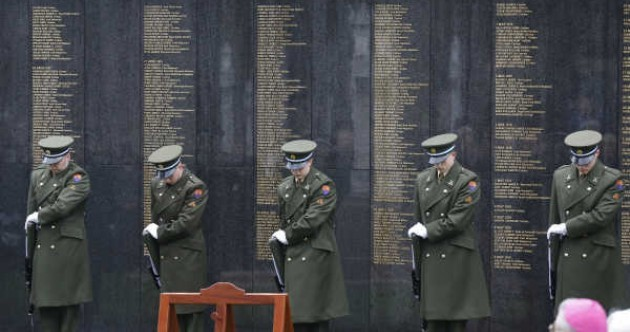 Teenager arrested as Remembrance Wall unveiled at Glasnevin Cemetery