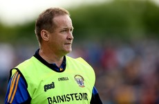 Clare footballers celebrate promotion to Division 2 despite loss to Kildare today