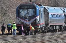 Two dead as train hits digger near Philadelphia