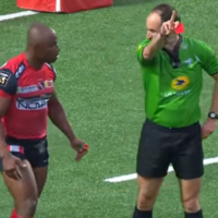 Apoplectic Oyonnax fullback will get a hefty ban after being red-carded by Romain Poite