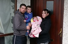 Family squats at abandoned council house to escape 'indescribable' emergency accommodation