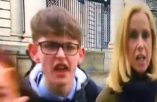 A lad just roared 'F**k her right in the p***y' on RTÉ's Six One news