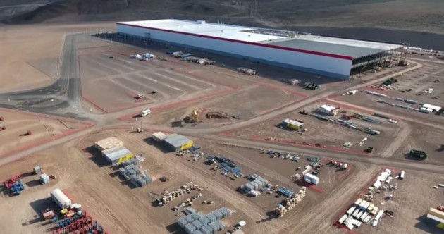 Check out the €4.4 BILLION Gigafactory - Tesla's self-sustainable desert complex for making electric cars