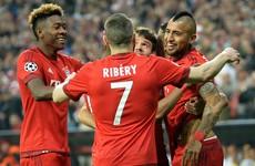 Vidal's early header gives Bayern a slender first-leg advantage