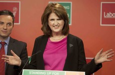 Joan Burton hopes to do a deal with the SocDems and the Greens