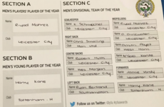 John Terry posts his PFA TOTY selection on social media - and picks 7 Leicester players