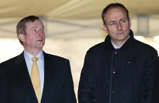 Over before it even started: Enda and Micheál's brief meeting ends with no plans for government