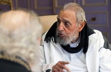 Fidel Castro has appeared in public for the first time in nearly a year