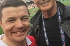 Brian O'Driscoll is not tempted by coaching
