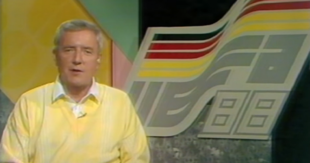 These new clips of Bill O'Herlihy at Italia 90 and Euro 88 are brilliantly nostalgic