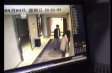 Outrage after video shows passers-by watching man beating woman in hotel