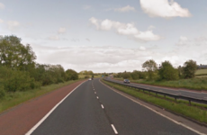 Elderly woman dies after six car motorway collision
