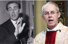 Leader of the Church of England finds out his dad was Churchill's assistant