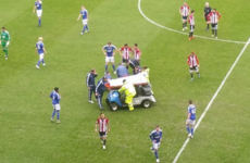 Serious concern for Alan Judge as Irish midfielder stretchered off with nasty injury