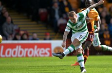 Celtic edge closer to title with win over Motherwell