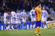 The La Liga title race has been blown wide open after shock Barca defeat
