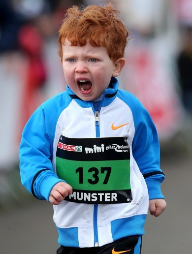 Over 10,000 people of all ages gathered in the Phoenix Park for the Great Ireland Run