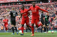 Origi on the double as Liverpool tune up for Dortmund with Stoke win