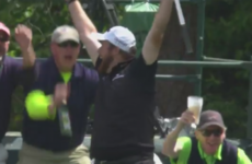 Shane Lowry just hit a hole-in-one at the Masters