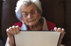 This 102-year-old woman received her degree - 60 years after enrolling