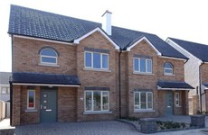Naas will have some new three-bedroom houses to its name