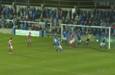 Here's the comedy own goal from Finn Harps v St Pat's last night