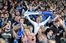 Tickets for Leicester City's final home game are being offered for €18,700 a pair