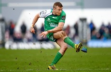 Boost for Connacht's Pro12 title tilt as Jack Carty returns to full training