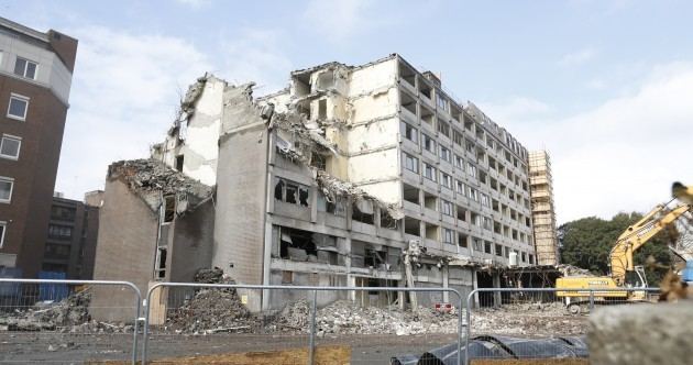 "A Dublin 4 hotel is being torn down to make room for ""exclusive"" apartments"