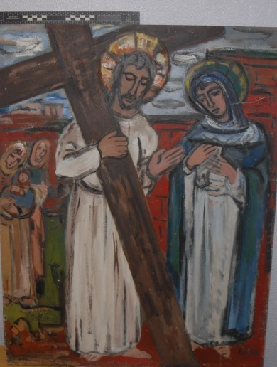 Six valuable paintings stolen from a church in 2013 have been found in Offaly