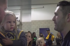 3-year-old girl left absolutely distraught over Robbie Keane's latest injury