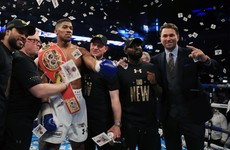 Anthony Joshua reveals that Fifa addiction could have ruined his boxing career