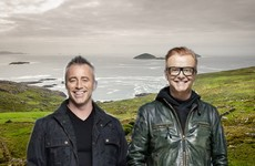 Matt LeBlanc and Chris Evans are filming Top Gear in Kerry this weekend