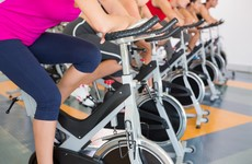 The app which allows you to do a indoor cycling class wherever you are in the world